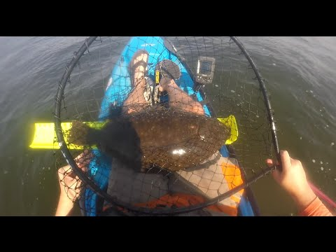 Big Kayak Fluke- Jigging the Raritan Bay Shipping Channels