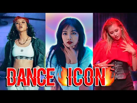 female kpop idols being iconic dancers