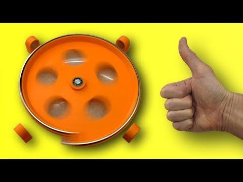 🌑  ВЕЧНЫЙ ДВИГАТЕЛЬ НА 3D принтере НОВАЯ СХЕМА Free Energy  Perpetual Motion Игорь Белецкий