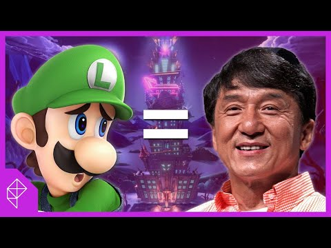 Luigi is the Jackie Chan of games and you should just accept it