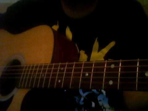 How to play Cute Without The E by Taking Back Sunday Acoustic Cover