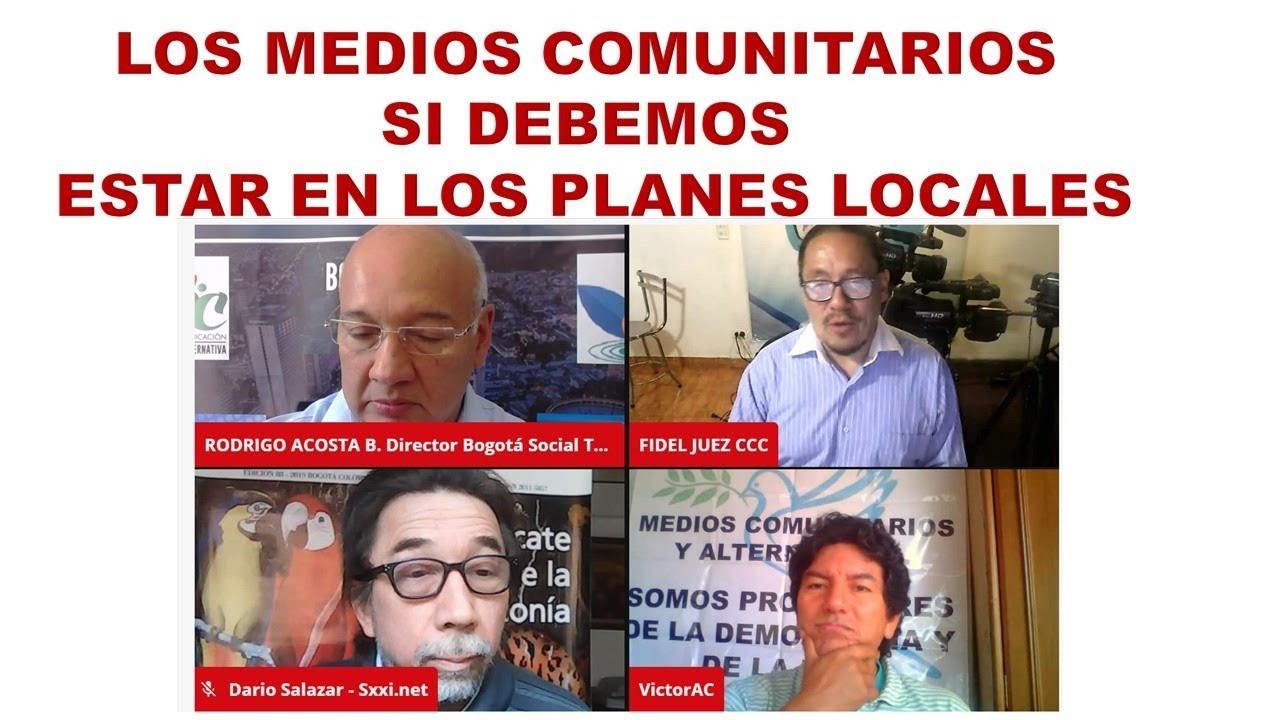 MEDIOS COMUNITARIOS SI DEBEMOS ESTAR EN LOS PLANES DE DESARROLLO LOCAL