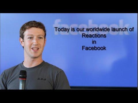 Mark Zuckerberg add new Reactions in facebook