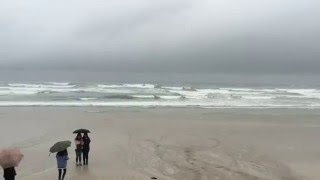 [제주여행] 비오는 날 제주도 월정리 해변 풍경 (Je…