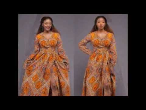 African Latest Rock Gown Styles - Ankara Dress Ideas for ladies