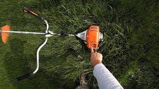 видео Виды газона. Газонные решетки.