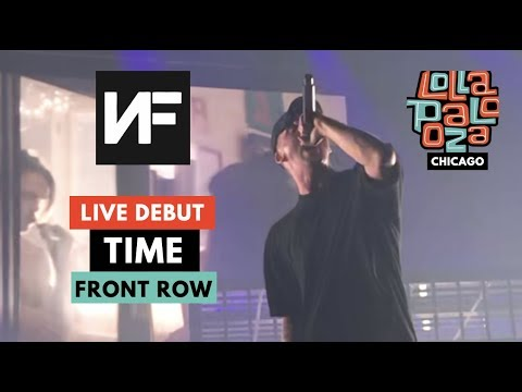 """NF LIVE *DEBUT* OF """"TIME""""!! - 2019 Lollapalooza Chicago"""