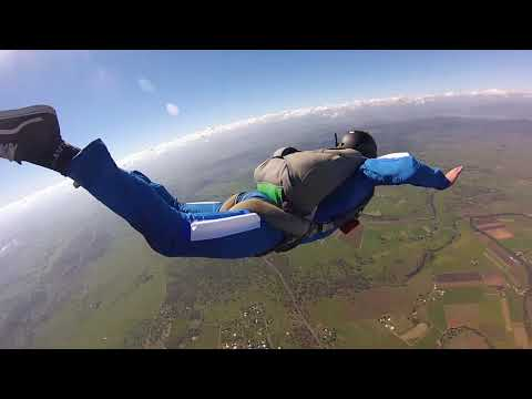 My First Solo Skydives! AFF 1-9 Full Course Video!