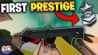 FIRST PRESTIGE in Bad Business (Roblox)