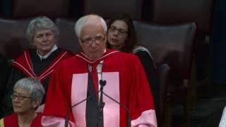 James Bartleman, Convocation 2016 Honorary Degree recipient