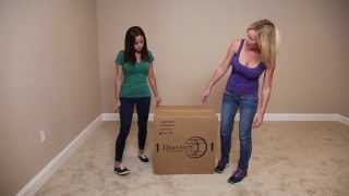 Unboxing A Discovery World Furniture Merlot Nightstand - Factorybunkbeds.com