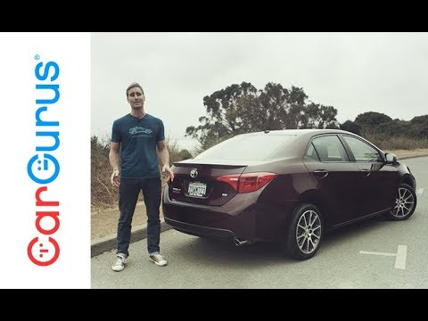 2017 Toyota Corolla Cargurus Test Drive Review Youtube