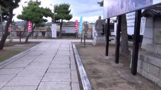 ジュピ散歩。今回は兵庫県赤穂市にある大石神社を歩きます。赤穂では赤...