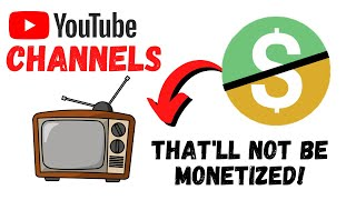 List of categories NOT ELIGIBLE for monetization on YouTube in 2020 | Channel list