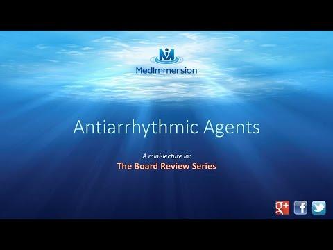 Antiarrhythmic Drug Classes