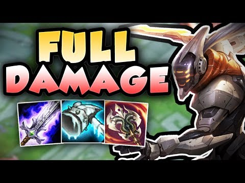 WHO CAN STOP THIS FULL DAMAGE MASTER YI TOP!?! FULL AD MASTER YI TOP SEASON 7 - League of Legends