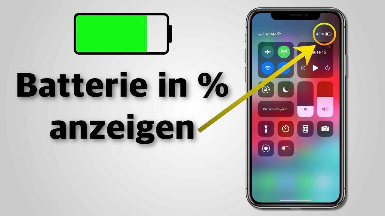 Akku In Prozent Iphone