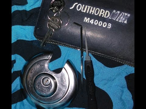 Abus No. 55/40 Padlock Picked Open from YouTube · Duration:  2 minutes 4 seconds