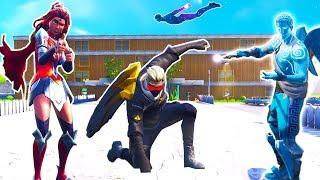 Superhelden Academy in Fortnite!