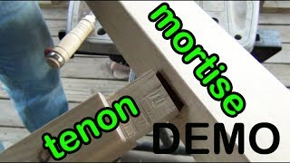 Demo 9: How I Fit Mortise And Tenon Joints