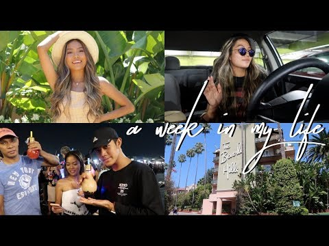 Weekly Vlog: My First Week of College, 626 Night Market + Photoshoot at Beverly Hills || FarinaVlogs