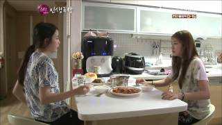 Gambar cover T-ARA - IU visits Jiyeon at her home