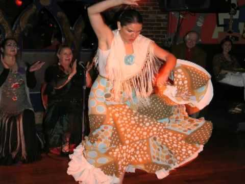 "History of Flamenco Dance and Intro for Cafe Sevilla's famous ""Art of Flamenco Dinner Show"""