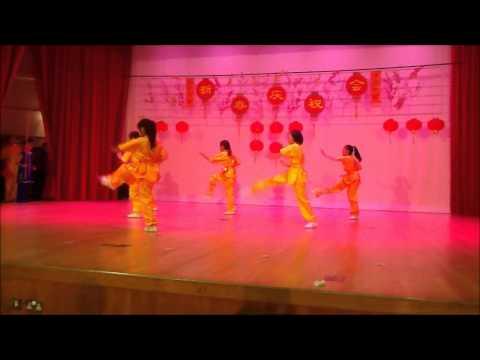 Nanyang Girl's High CNY Celebration Wushu Performance