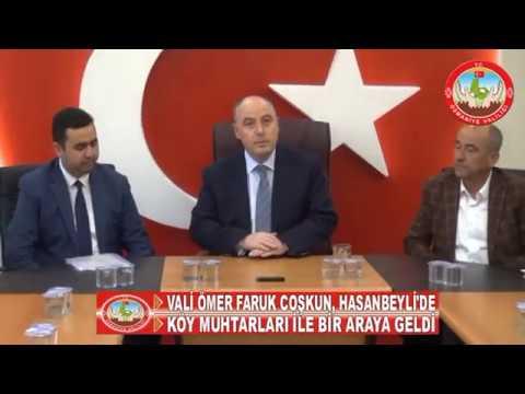 VALİ ÖMER FARUK COŞKUN, HASANBEYLİ'DE