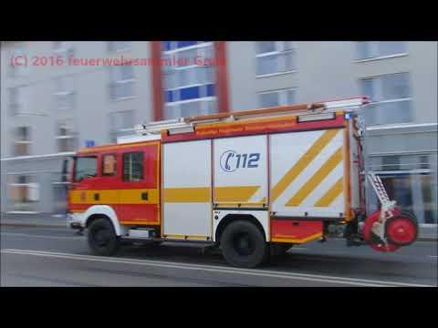 Feuerwehren Greiz, Gera, Dresden, Chemnitz, Jena, Zwickau, Zeulenroda, Berlin Jahr 2016