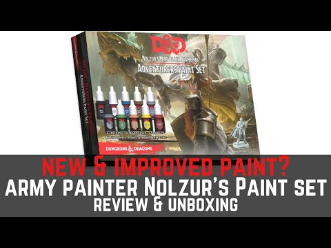 Army Painter Adventure Paint Set Unboxing & Review- I'm excited!