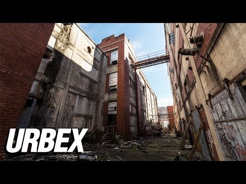 Exploring an Abandoned Textile Mill