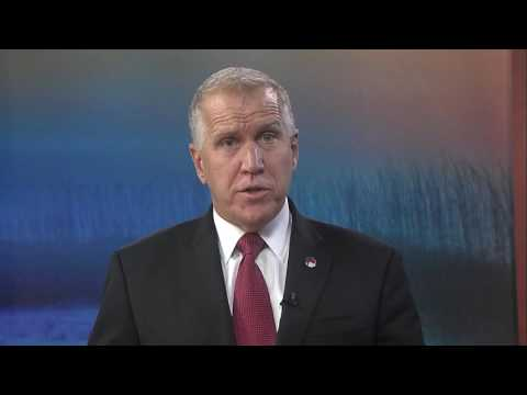 10/22/16 Sen. Thom Tillis (R-NC) delivers GOP Weekly Address on Obamacare