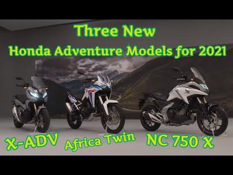 2021 Honda Adventure Models X Adv Africa Twin Nc 750 X Youtube