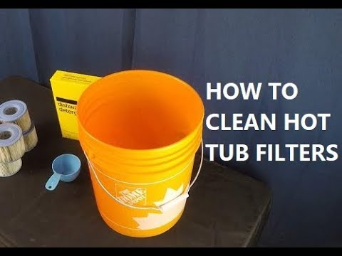 How To Clean Hot Tub Filters (For Cheap!)