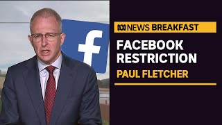 Facebook restricts sharing or viewing Australian and international news content | News Breakfast