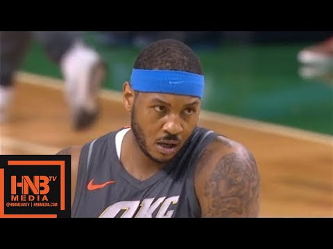 Oklahoma City Thunder vs Boston Celtics 1st Qtr Highlights / March 20 / 2017-18 NBA Season