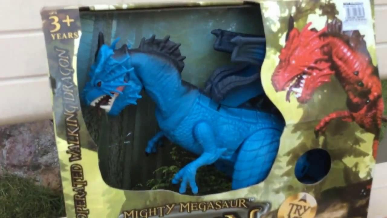 dragon i toys mighty megasaur dragon toys for kids youtube. Black Bedroom Furniture Sets. Home Design Ideas