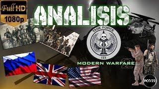 ANÁLISIS CALL OF DUTY MODERN WARFARE 2