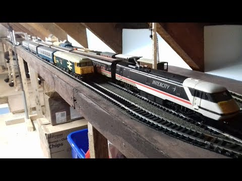 Building a Model Railway PT16 – Planning a raised line for (DMU's) – Tweaks to the Shunter Yard.