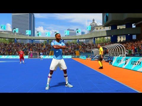 FIFA 20 VOLTA - Manchester City VS Liverpool - Gameplay