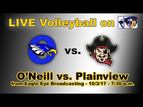 O'Neill v. Plainview - LIVE High School Volleyball from O'Neill, Nebraska