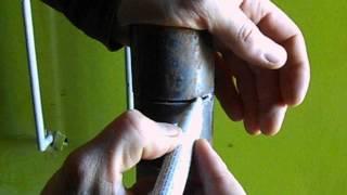 Сварка горизонтального шва с отрывом за один проход(Видео сварки трубы в горизонтальном положении с отрывом за один проход. Постарался объяснить в подробностя..., 2014-10-25T10:17:49.000Z)