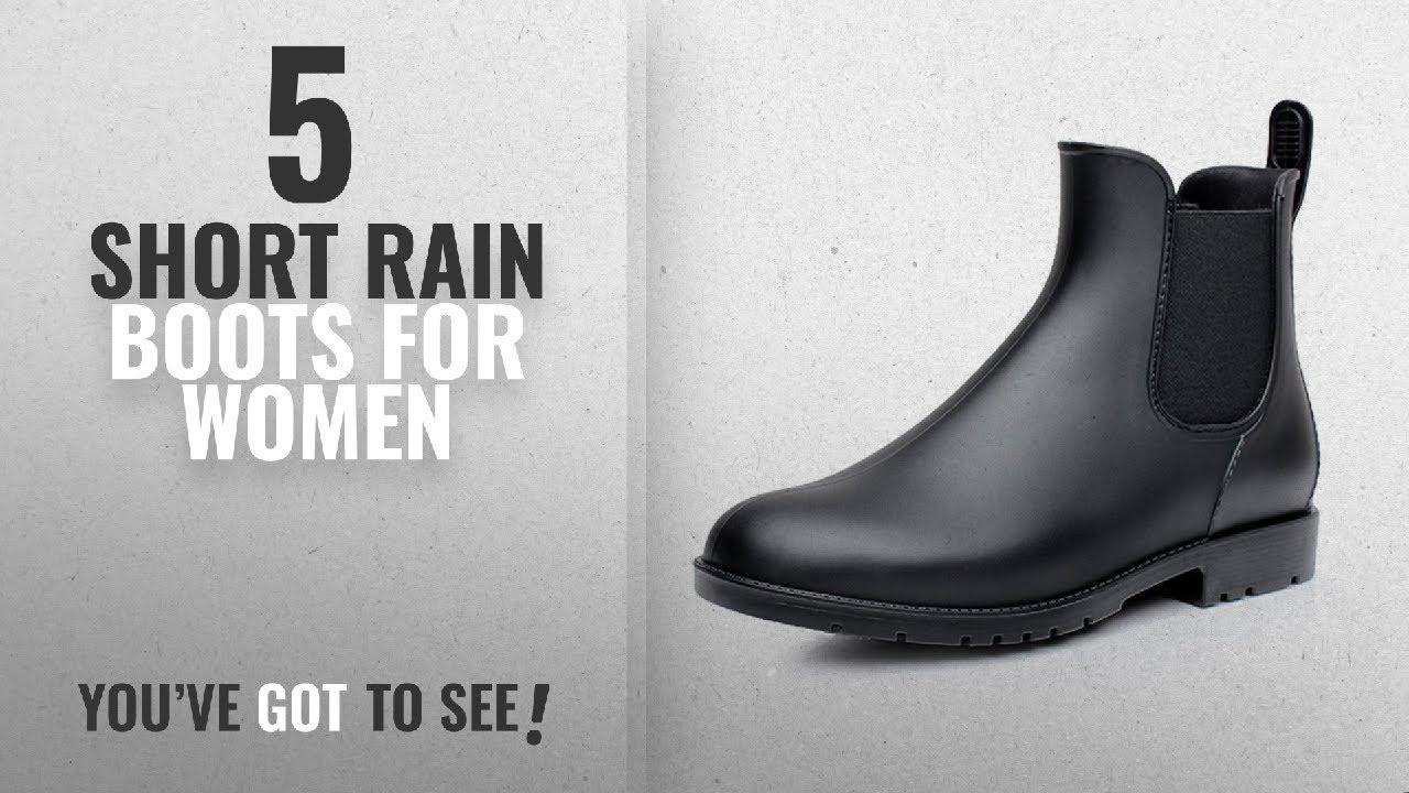 79b97ad70ec1c9 Top 5 Short Rain Boots For Women  2018   Asgard Women s Short Rain ...