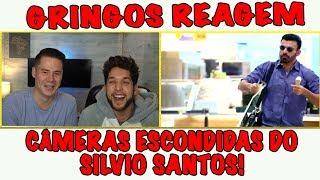 Gringos reagem a CÂMERAS ESCONDIDAS do Silvio Santos