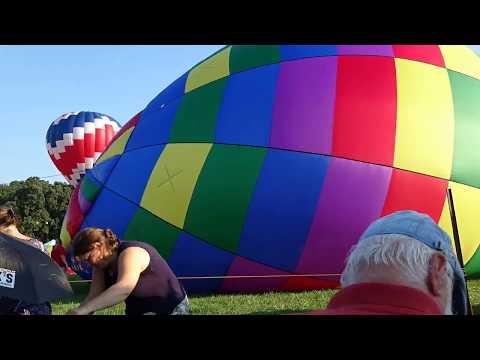 The #ChesapeakeBay #Balloon&Wine Festival 2018 - #timelapse