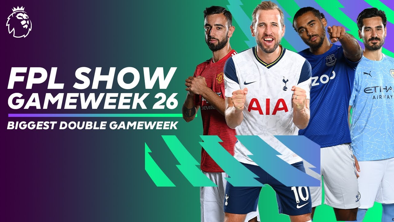 BIGGEST DOUBLE GAMEWEEK IN FPL HISTORY | Chip chat & best double-ups | FPL Show GW26
