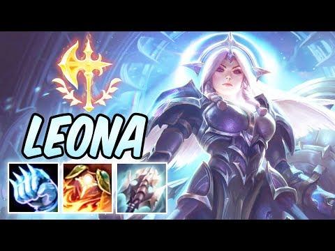 40% CDR CONQUEROR LUNAR ECLIPSE AD LEONA TOP S+   New Build & Runes   League of Legends   S10