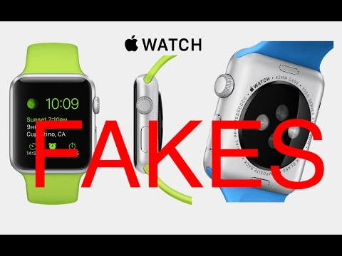 Top 3 Fake Apple Watch in China (Huaqiangbei)