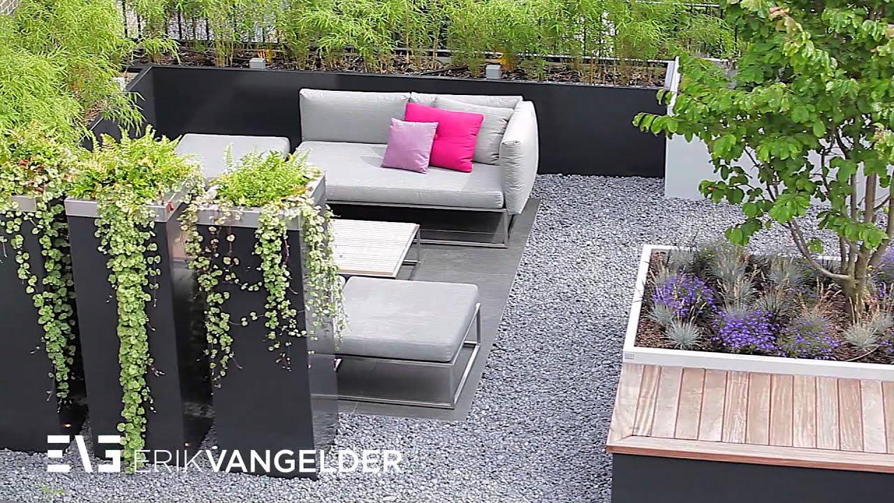 Roofgarden Erik van Gelder design roofgarden Exclusieve daktuin in ...